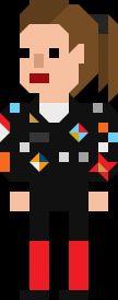 Dorothy Ace McShane Pixelated Ponytail