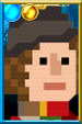 The Fourth Doctor + Pixelated Portrait