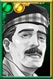 Brigadier Lethbridge-Stewart BW Colonel Portrait