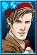 The Eleventh Doctor + Fez Portrait