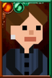 Clara Oswald Pixelated Governess Portrait