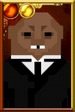 Strax Pixelated Portrait