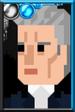 The Twelfth Doctor Pixelated Coat Portrait