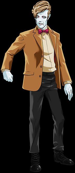 11th Doctor Flesh Clone