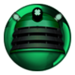 Dalek green gem
