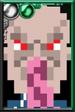 Ood (Black) Pixelated Portrait