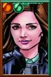 Clara Oswald Retro Comic Portrait