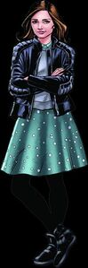 Clara Oswald Retro Comic