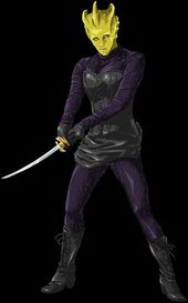 Madame Vastra Ninja
