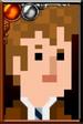 The Tenth Doctor Pixelated Suit Portrait