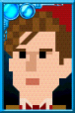 The Eleventh Doctor + Pixelated Portrait