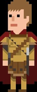 Rory Williams Pixelated Centurion