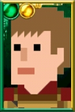 Rory Williams Pixelated Centurion Portrait
