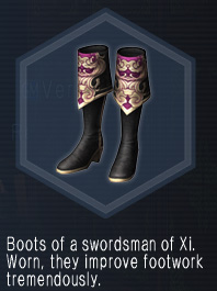 XiSwordsmanShoes