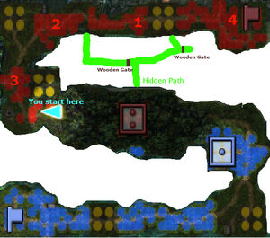 Troublesome Mage Map
