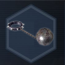 Spiked ball and chain