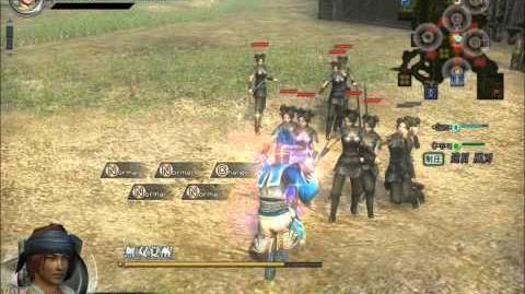 Dynasty Warrior Online Z Sima Yi Moveset