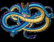 Seiryu dragon form