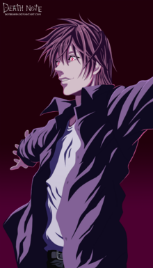 Light yagami death note by boybushin-d5zil7r