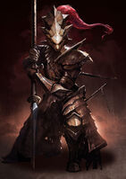 Dragon slayer ornstein dark souls and souls from software drawn by yinwoeren sample-6378dbad56be059935db1ce60a0f0580