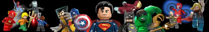 Lego Superheroes Banner