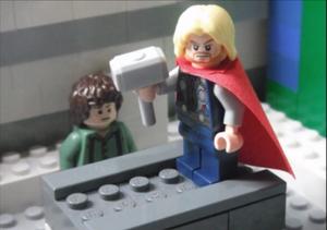 Lego Thor Peer Pressure