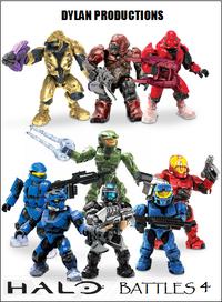 Halo Battles 4 Poster