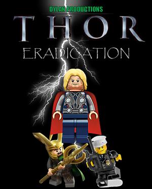 Lego Thor Eradication Poster