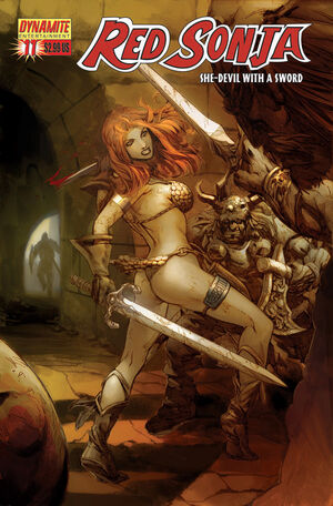 Red Sonja 11 Cover A