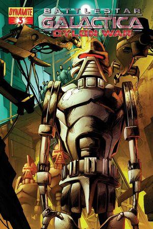 Cylon War 03 Cover A