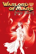 WoM Dejah Thoris 04 Red Cover Renaud