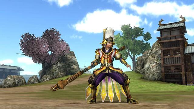 File:Hideyoshi Toyotomi Weapon Skin (SW4 DLC).jpg