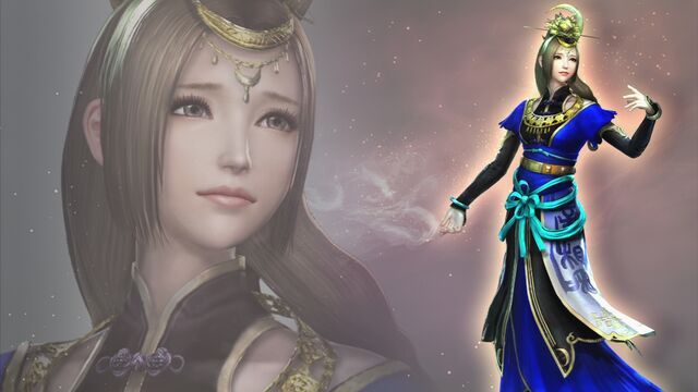 File:Cai Wenji Wallpaper (WO3 DLC).jpg