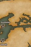 Baltic Sea - Port Map 3 (UW5)