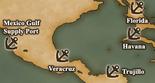 Gulf of Mexico - Port Map 2 (UW5)