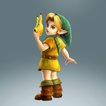 Young Link Alternate Costume 4 (HWL DLC)