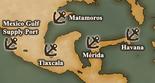 Gulf of Mexico - Port Map 3 (UW5)