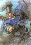 Xiahou Yuan Watercolor Artwork (ROTK13PUK DLC)