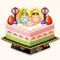 Hinamatsuri Cake (TMR)