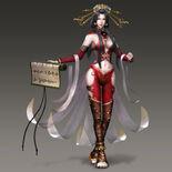 Mae Tamamo Costume (WO3U DLC)