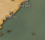 Rio de la Plata - Port Map 1 (UW5)