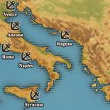 Adriatic Sea - True Port Map (UW5)