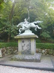 Nobunaga statue