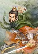 Liu Bei Watercolor Artwork (ROTK13PUK DLC)