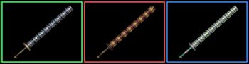 DW Strikeforce - Twin Rods
