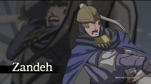 Arslan The Warriors of Legend Zandeh Character Highlight