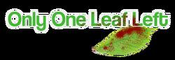 2012.11.20 - Only One Leaf Left logo1