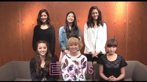 """E-girls - 1st Album """"Lesson 1"""" Special Comment"""