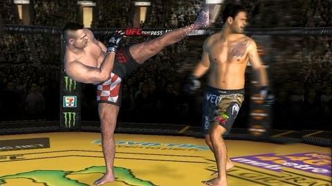UFC Fight Night Live Event - Bader Vs Nogueira (+ CROCOP MOD TEST.ver +) UFC모바일 크로캅