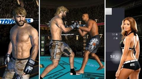 UFC mobile Andrei Arlovski CE showcase (MOD patch - haircut shorts knee guard) 모바일UFC 알롭스키